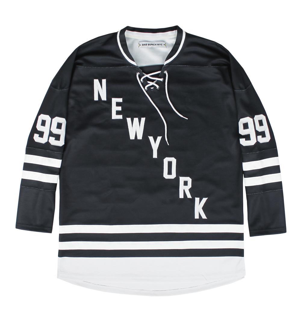 hockey jersey black