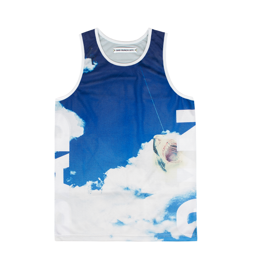 Bad bunch nyc surreal tank top for Fishing tank top
